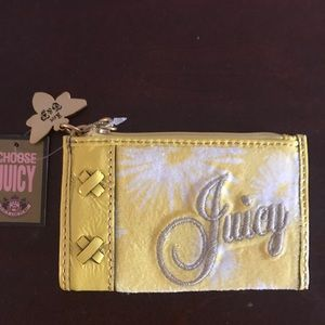 NWT Juicy Couture bumble bee card holder/wallet